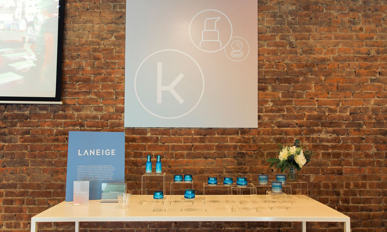 Laneige hosted The Klog Launch Party with style