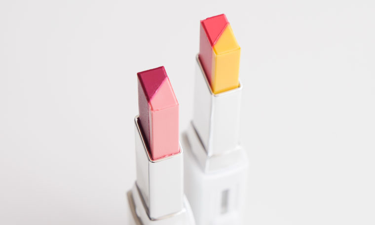 Laneige Two Tone Lipstick - No.11 Juicy Pop and No.10 Burgundy Love