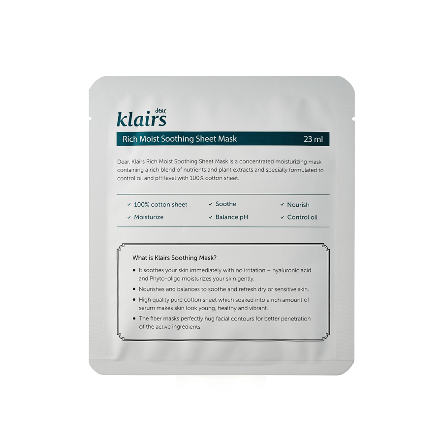 acne-tratment-sheet-mask-klairs