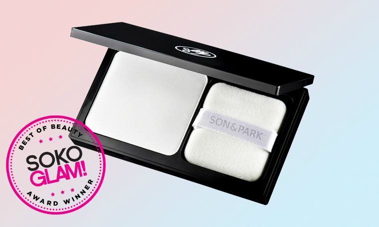 son & park flawless pore pact won the 2016 best translucent powder award from Soko Glam