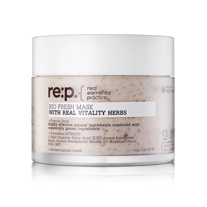 Winter Skin Care: RE:P Bio Fresh Mask Real Vitality Herbs