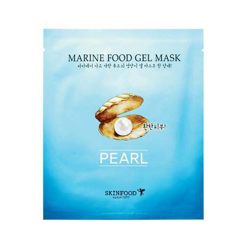 Winter Skin Care: Skinfood Marine Food Gel Mask in Pearl