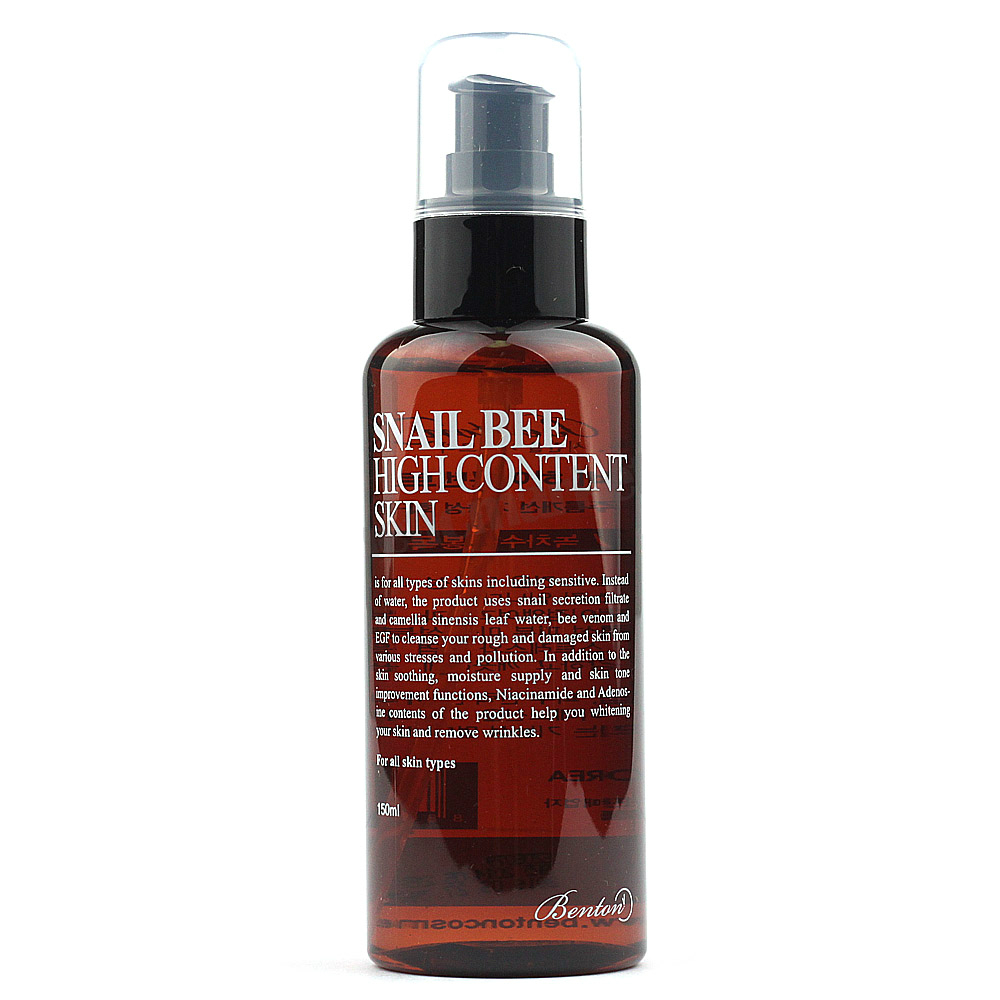 Bee Venom Skin Care: Benton's Snail Bee High Content Skin Toner