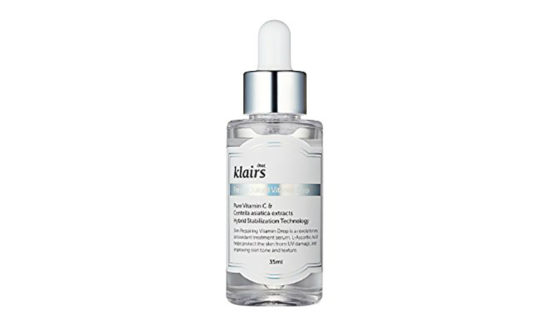 5 skin care products to detoxify your skin: Klairs Freshly Juiced Vitamin C Serum