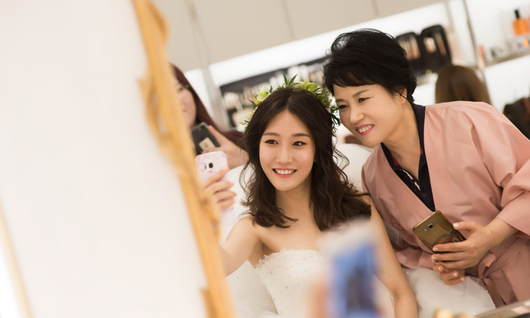 Two korean women share their wedding beauty routines both narae hong and mina noh got married in korea this year narae is 25 and prepped for her wedding by eating well exercising and changing her beauty ccuart Choice Image