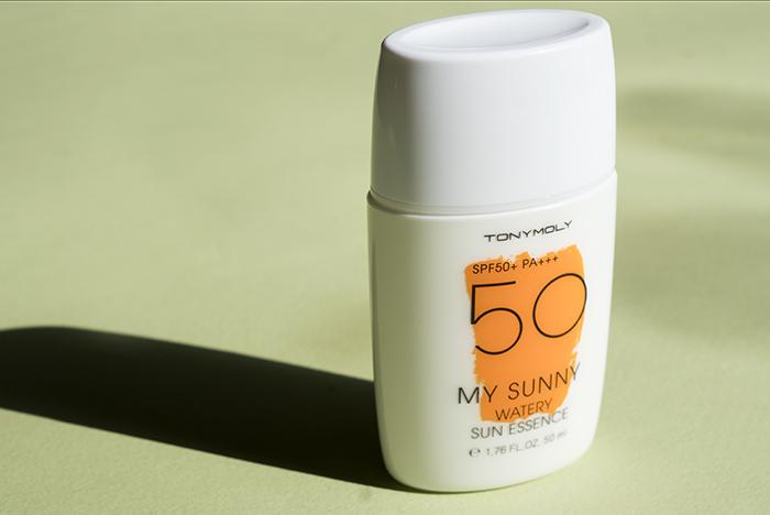 tony moly watery essence sunscreen
