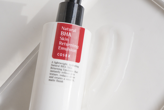 cosrx natural bha returning a sol