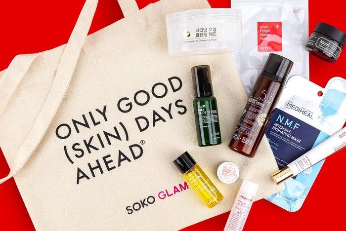 Soko glam 2019 skin starter set