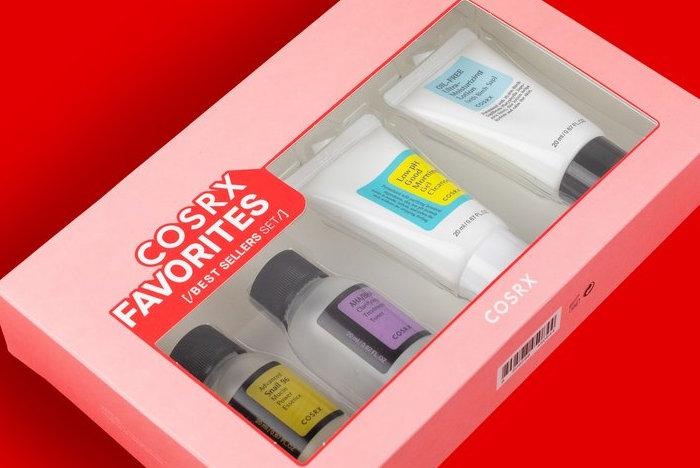 cosrx favorites best-seller set
