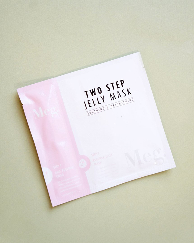 Meg Two Step Jelly Mask Brightening and Soothing
